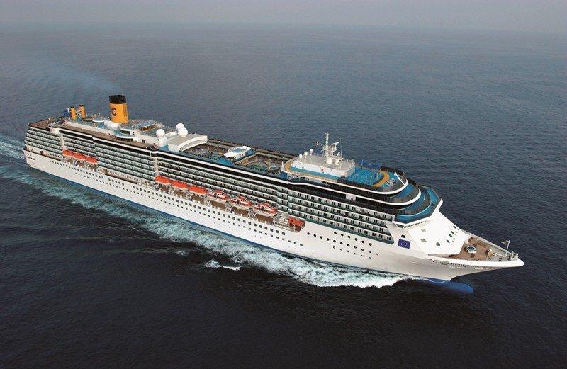 El Costa Mediterranea será el único barco de Costa asignado a los puertos del Río de la Plata la próxima temporada.