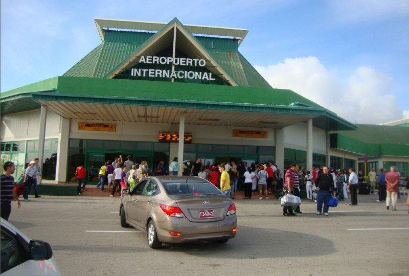 Aeropuerto Internacional de Holguín.