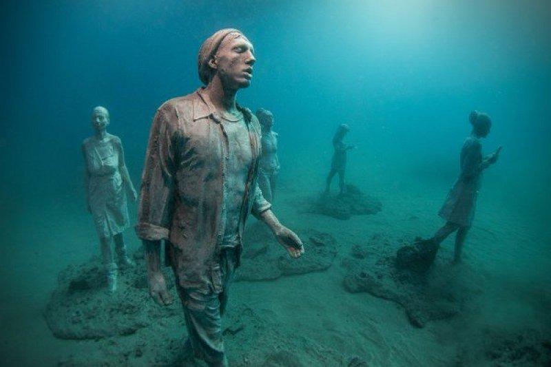 El museo submarino abarcará una superficie de 2.500 metros cuadrados.
