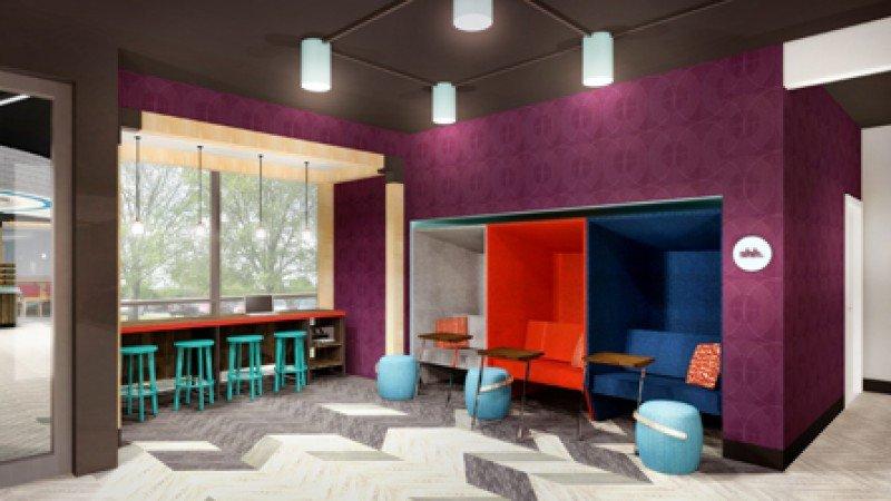 The Hive también albergará una zona de trabajo, con múltiples enchufes y lugares cómodos donde los clientes puedan utilizar sus dispositivos.
