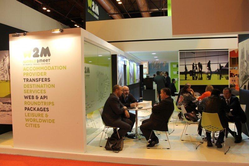 Stand de la compañía en Fitur 2016, donde se presentó la nueva marca al sector.