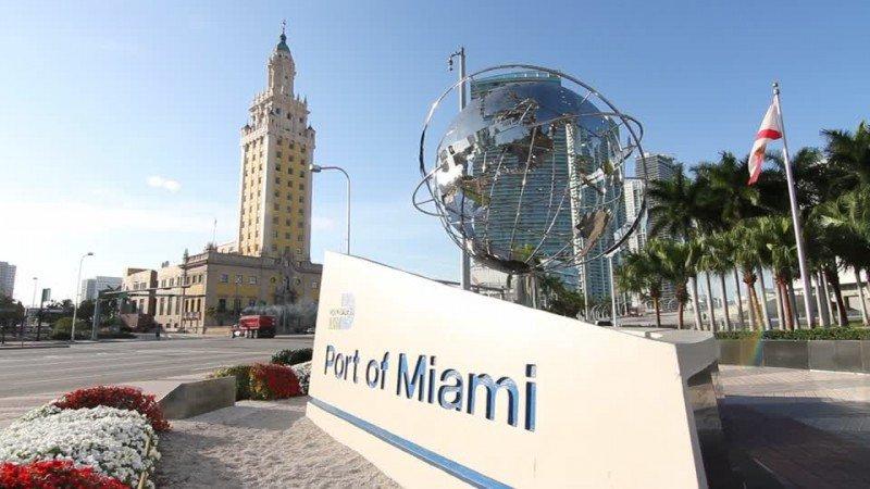 El Puerto de Miami prepara terminales para el servicio de ferris a Cuba