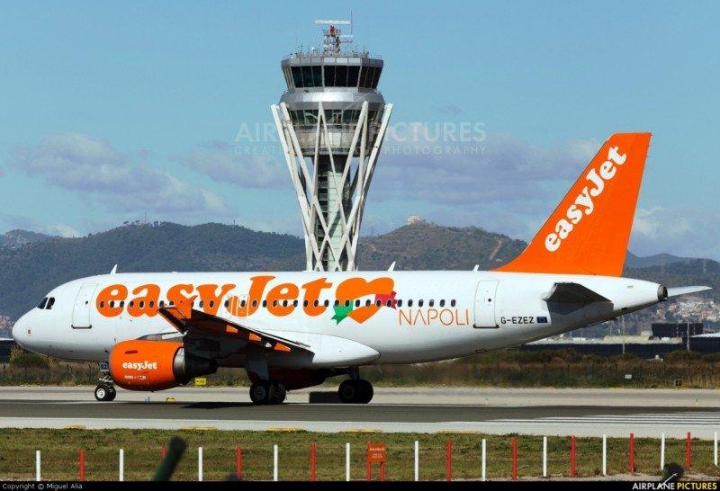 easyJet abre una base en el Aeropuerto de Barcelona-El Prat que impulsará su tráfico un 10,7% (Foto: Miguel Alia/ airplane-pictures.net)