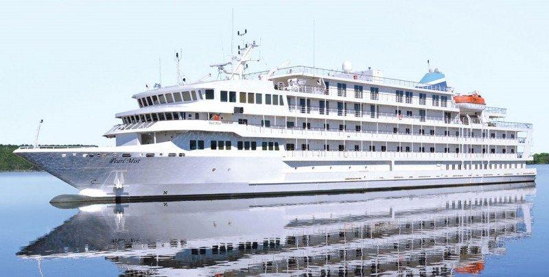 Un barco de la naviera Pearl Seas Cruises.
