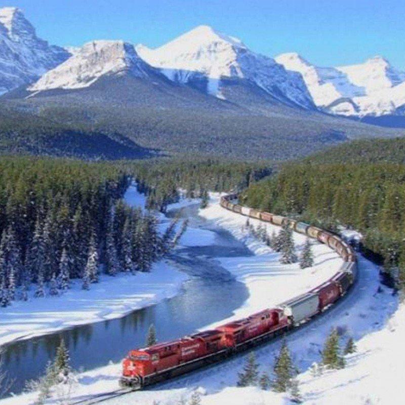 El Transiberiano, uno de los trenes más míticos del mundo.