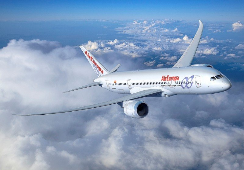 Air Europa se consolida en el mercado España-EEUU con un crecimiento del 84%