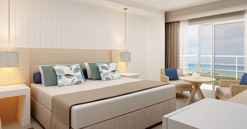Una de las 800 habitaciones del nuevo resort de H10 en Cayo Santa María.