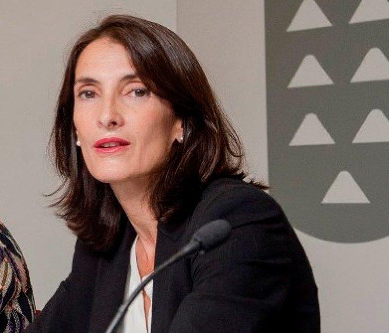 La consejera de Turismo, Cultura y Deportes del Gobierno de Canarias, María Teresa Lorenzo.