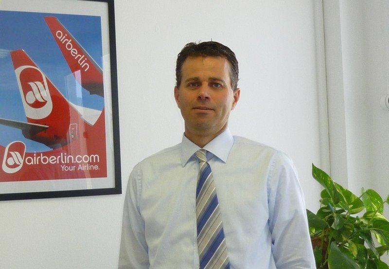Paul Verhagen renunció a airberlin el pasado mes de diciembre.