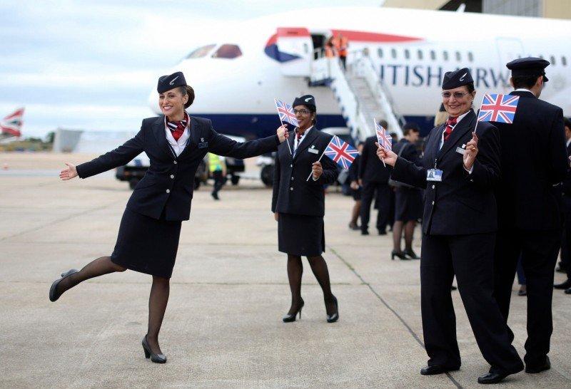 Las TCP denuevo ingreso (desde 2012) en British Airways han logrado legalmente eliminar una norma sobre el uso de pantalones en el uniforme (Foto: Bloomberg).