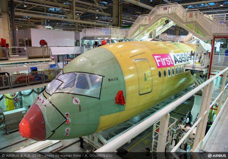 Airbus comienza el montaje final del A350-1000