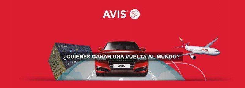 Avis España sortea tres vueltas al mundo entre los agentes de viajes que participen en el concurso.