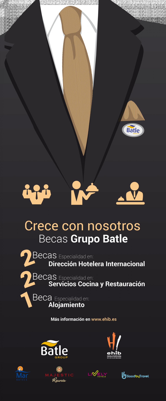 Grupo Batle convoca cinco becas para estudiantes de la EHIB