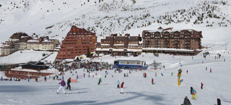 Estación de esquí de Astún, en el Pirineo aragonés.