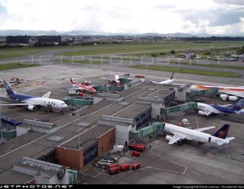Aeropuerto de Bogotá.