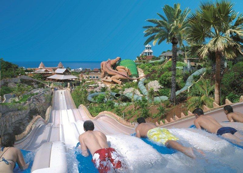 Imagen del Siam Park de Tenerife.