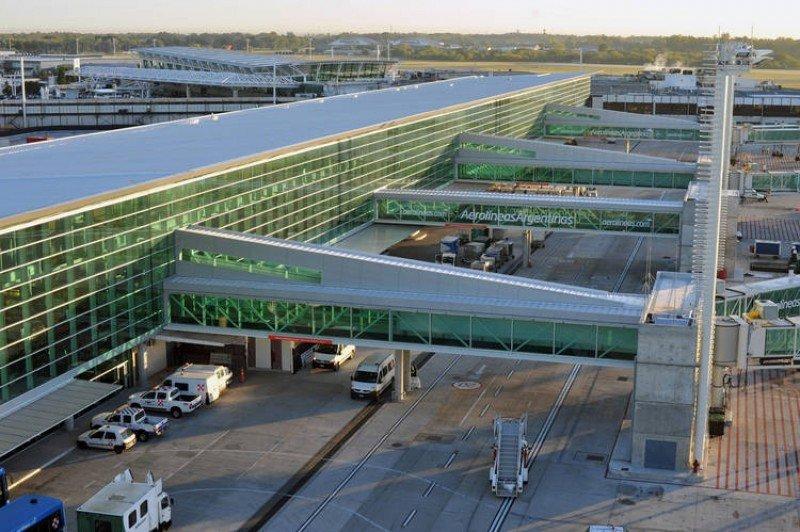 Terminal B del Aeropuerto de Buenos Aires Ezeiza.