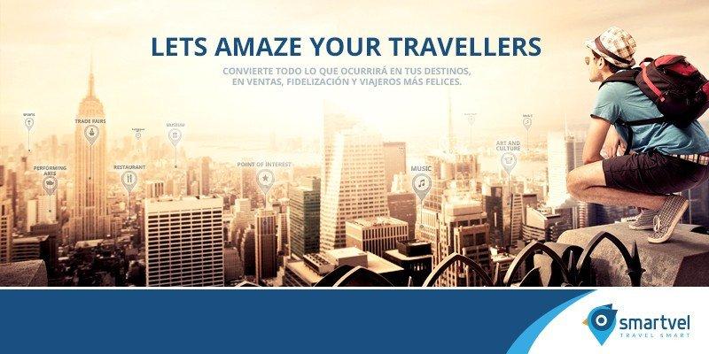 A través de big data Smartvel crea una agenda digital de lo que ofrece el destino para que el cliente pueda utilizarla en todas las fases de su viaje.