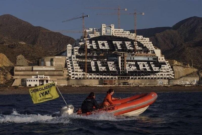El Tribunal Supremo ordena la demolición del hotel de El Algarrobico