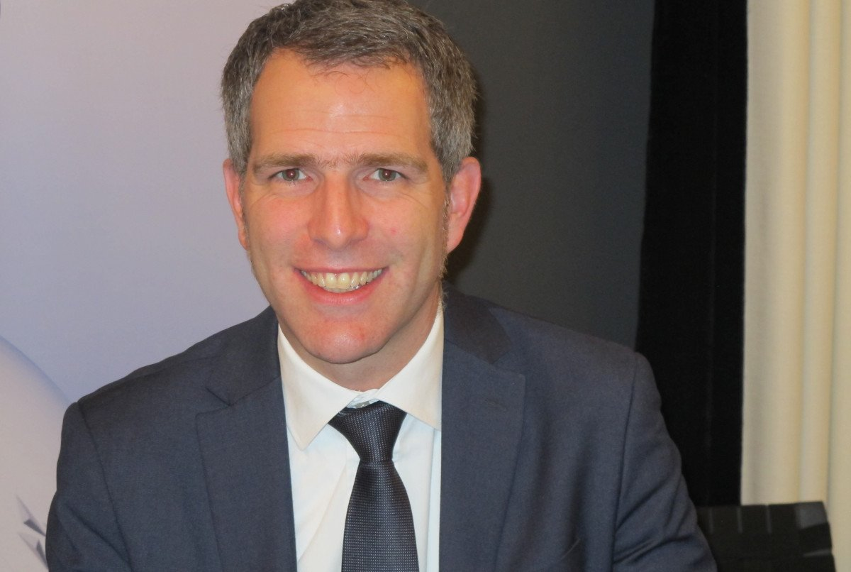 Carsten Hoffmann, director general de Lufthansa para España y Portugal.