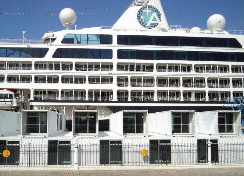 Sevilla podrá ser puerto base con la nueva terminal de cruceros de Las Delicias