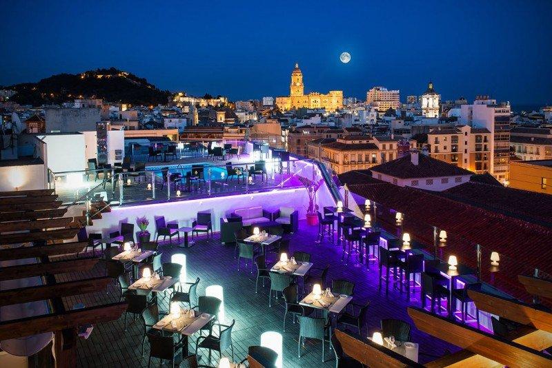 Fotografía del Sallés Hotel Málaga Centro.
