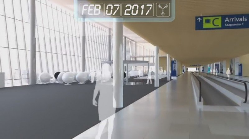 Regreso al futuro: visión de cómo será el Aeropuerto de Helsinki (vídeo)
