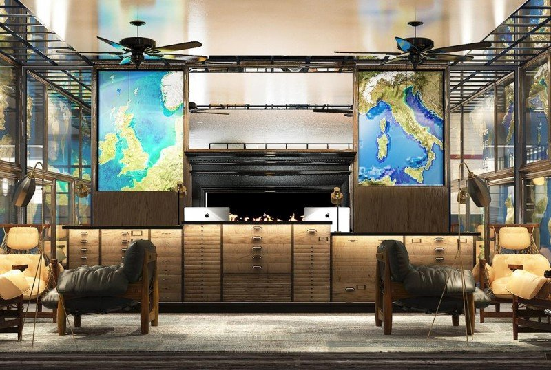 La recepción también albergará una zona de show cooking de cocina mexicana, japonesa y local.