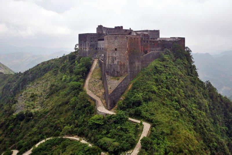 La Ciudadela Laferrière, la fortaleza más grande de toda América y Patrimonio de la Humanidad de la UNESCO, en Haití.