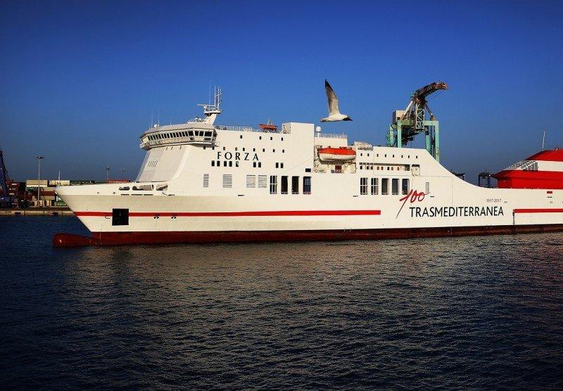 Trasmediterranea refuerza la flota de Baleares