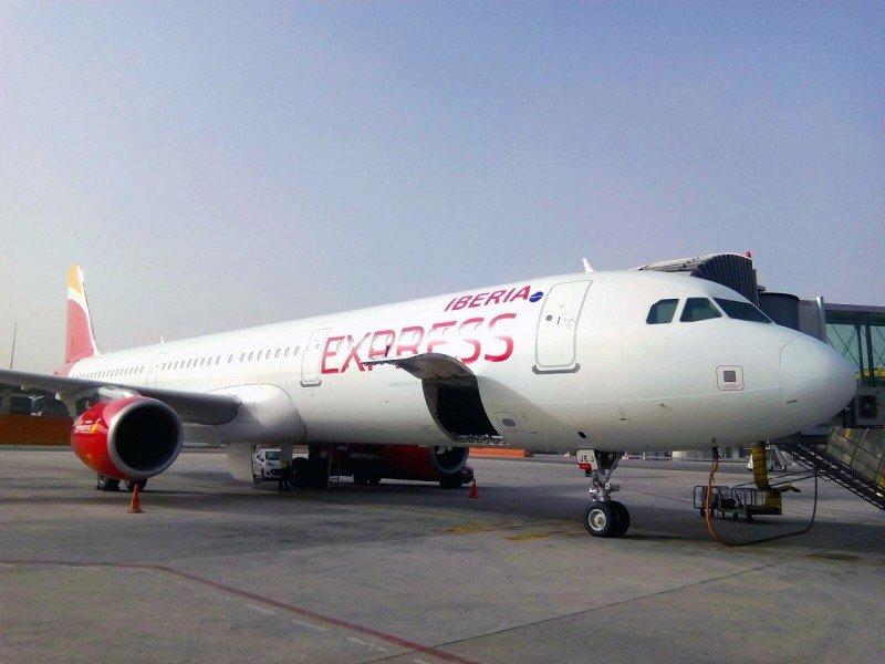 Iberia Express incorpora a su flota el Airbus A321