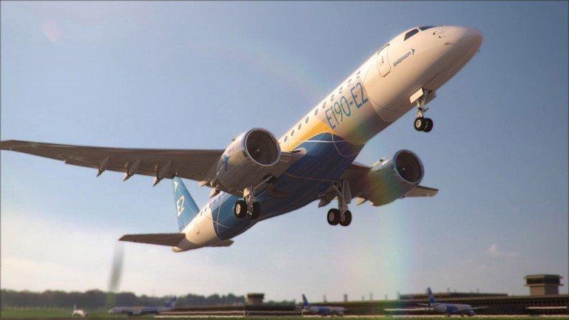 Embraer lanza la segunda generación del E190 (vídeo)