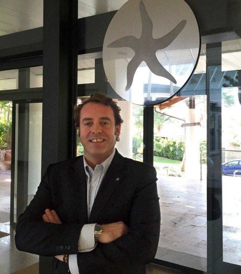 Javier Tor es el nuevo director comercial del Grand Hotel Portals Nous.
