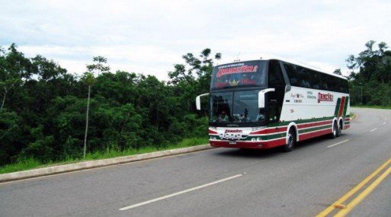 Lanzan línea de buses entre Rio de Janeiro y Cuzco