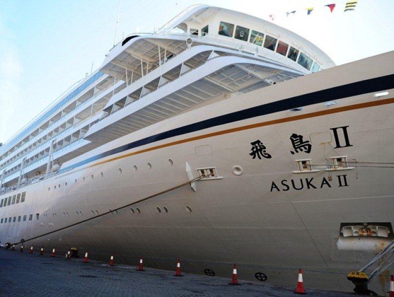 Uruguay avanza en conquista del turismo nipón con arribo del crucero Asuka II.