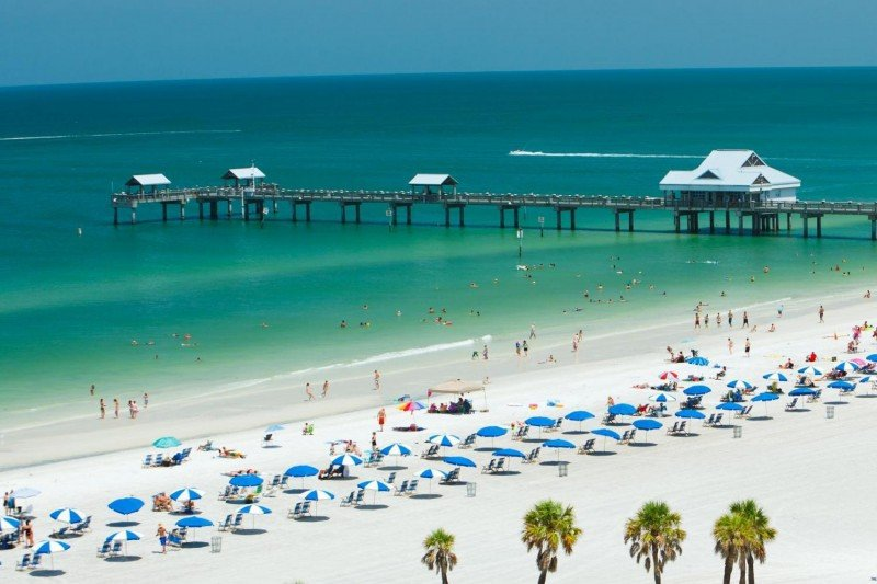 Clearwater Beach.