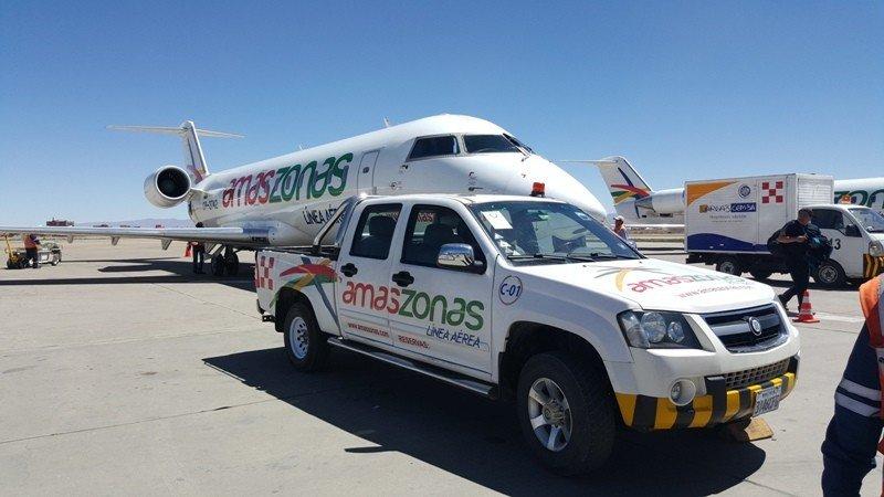 Amaszonas BQB agrega vuelos entre Montevideo y Asunción