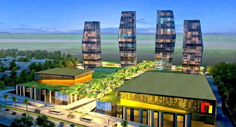 Proyecto del complejo Puerta de Oro.