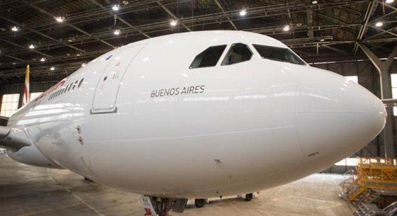 Buenos Aires, el segundo A330-200 de Iberia.