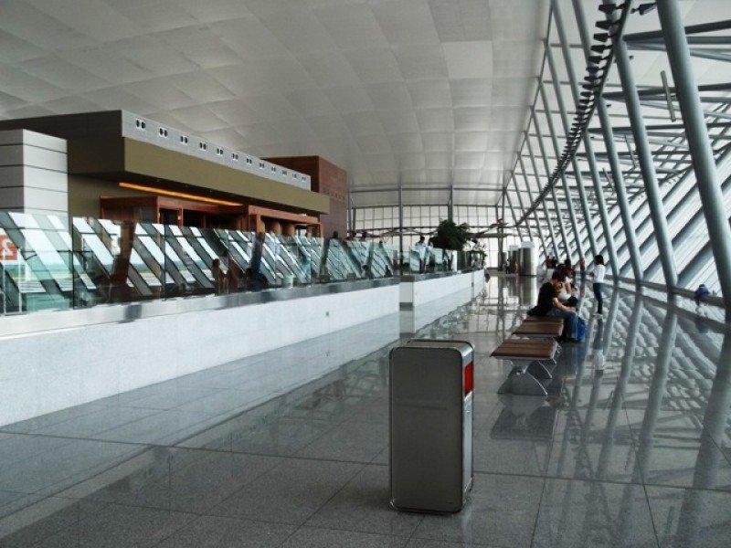 El Aeropuerto de Carrasco es la principal vía de entrada desde Perú a Uruguay.