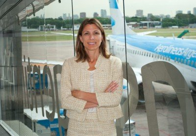 Isela Costantini, presidenta de Aerolíneas Argentinas.