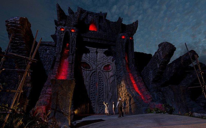 El cineasta Peter Jackson supervisó el diseño de la nueva atracción.