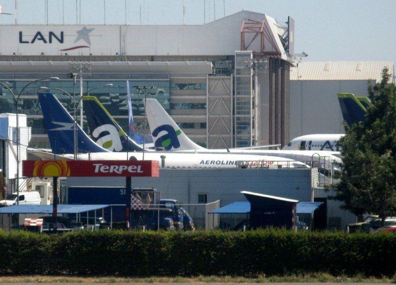 Transporte aéreo de pasajeros en Chile creció 7,8% en enero