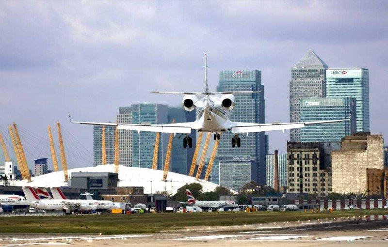Grupo canadiense paga US$ 2.842 millones por el London City Airport