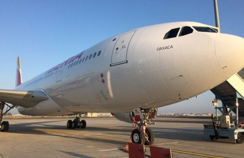 El primer A330-200 recibido por Iberia fue bautizado Oaxaca y el segundo Buenos Aires.