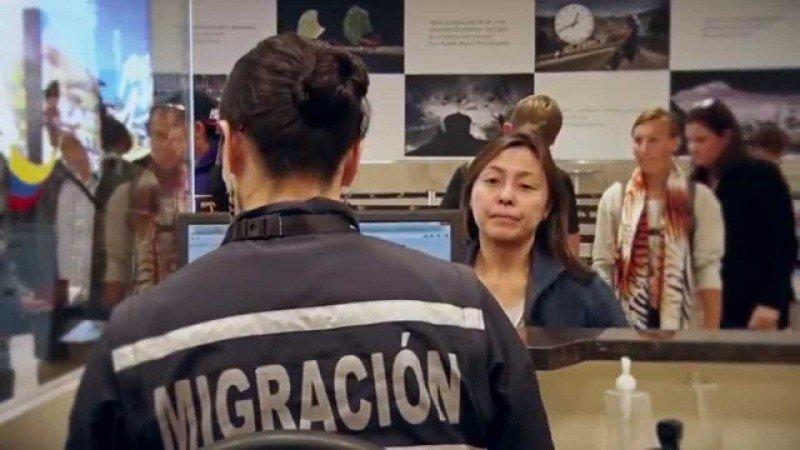 En las ventanillas de migración de Ecuador ya no exigirán visa a los turistas de China.