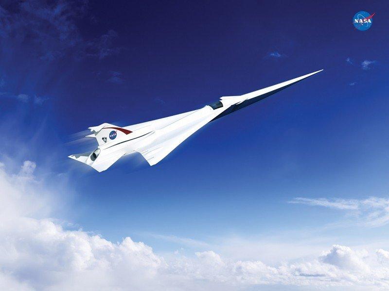 La NASA desarrolla el avión supersónico más eficiente, ecológico y seguro