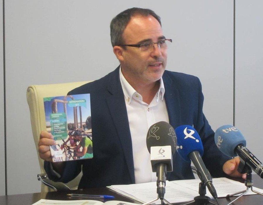 Francisco Martín, director general de Turismo de Extremadura.