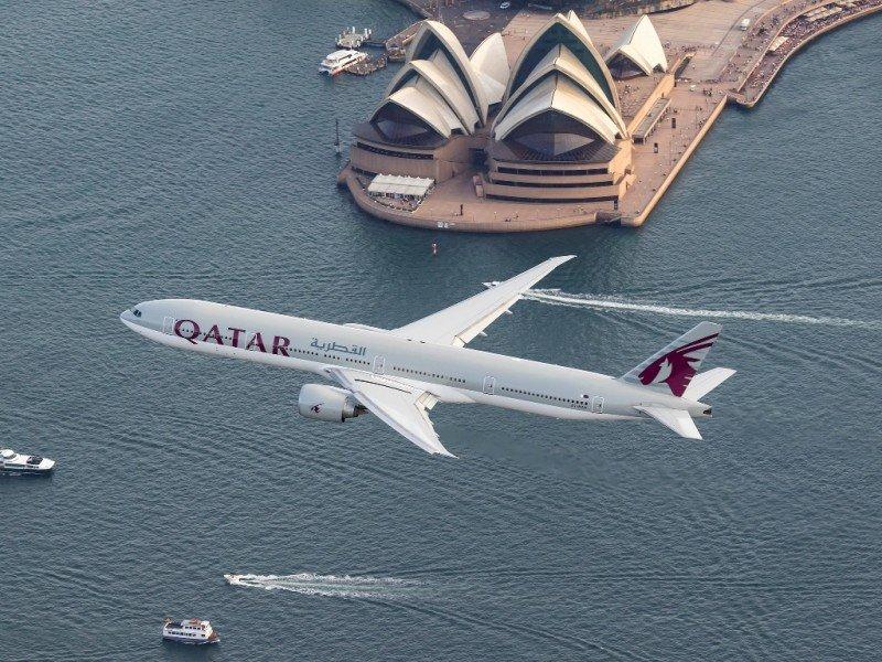 Qatar Airways enlaza los vuelos desde Madrid y Barcelona con su ruta a Sidney