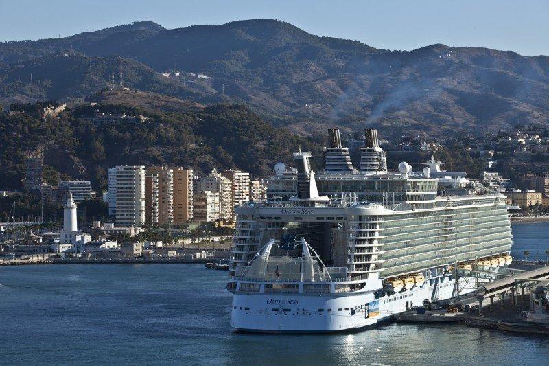 Foto: Puerto de Málaga.